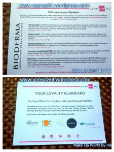 Glambox Loyalty card