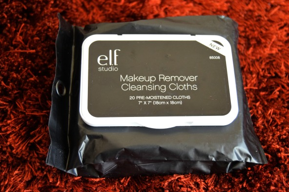el.f makeup remover cleansing cloth