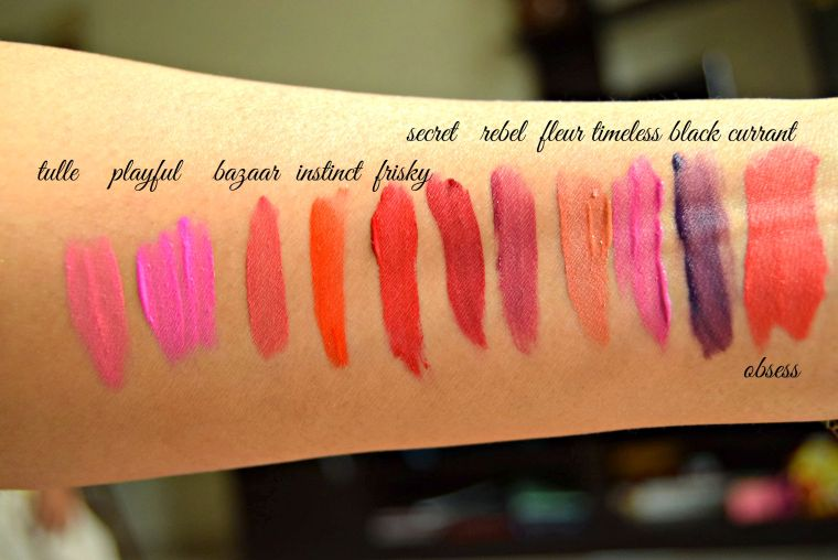 L.A Girl matte lipgloss
