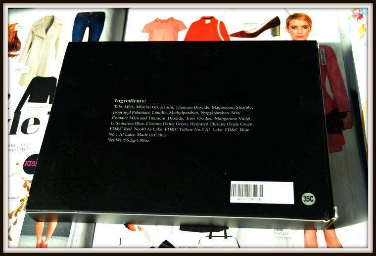 Morphebrushes multi-matte palette 35c
