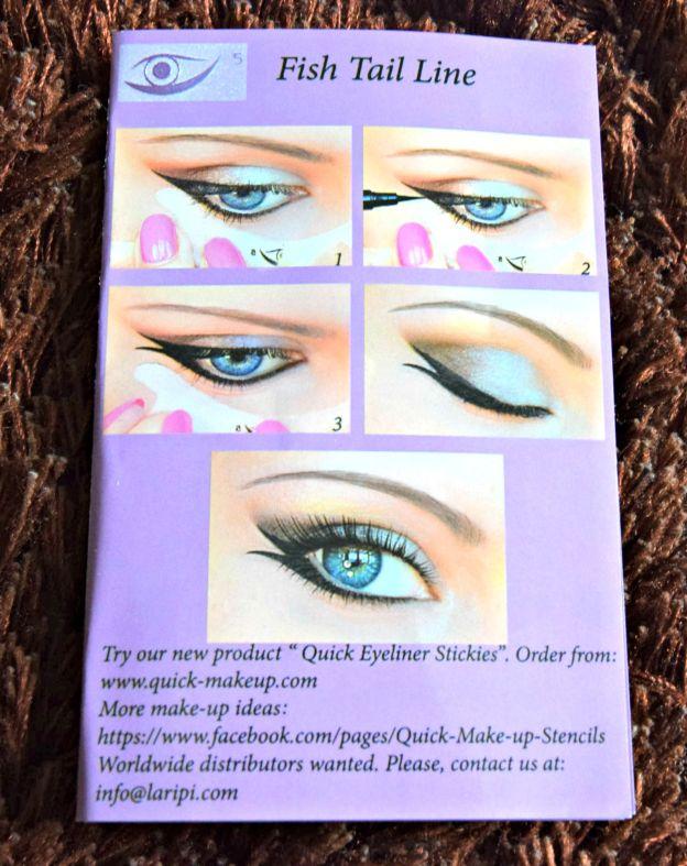 Quick Makeup Stencil
