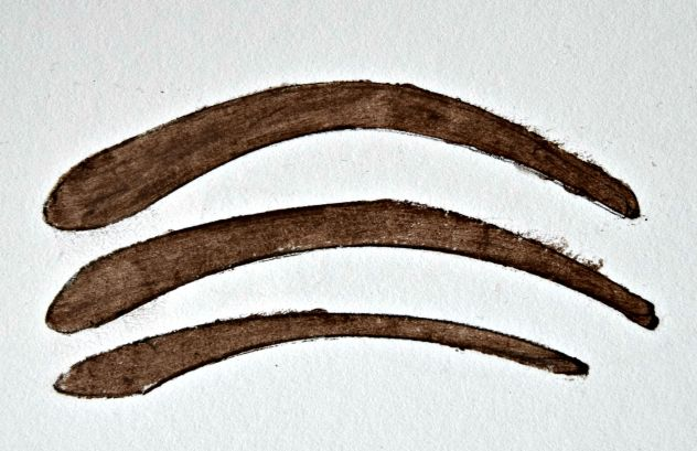 eyebrow stencil
